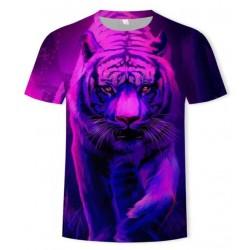 T Shirt Tigre Femme