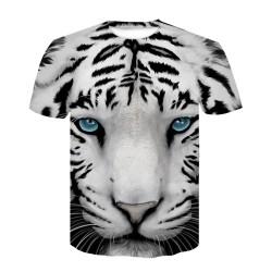 Tee Shirt Tigre Blanc