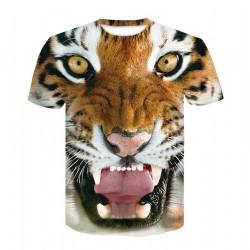 Tee Shirt Tête de Tigre
