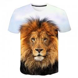 T Shirt Tête de Lion