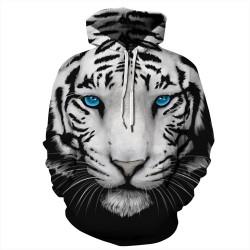 Sweatshirt Tigre Blanc