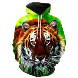 Pull Motif tigre