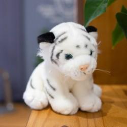 Peluche Bébé Tigre Blanc