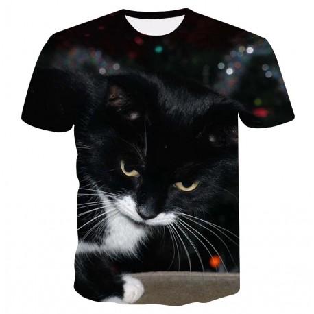 Tee Shirt Chat Noir