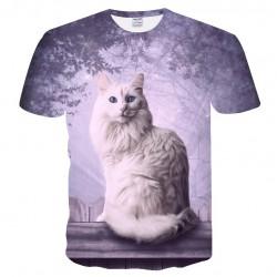 Tee Shirt Avec Chat