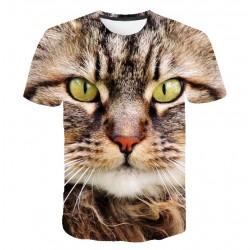 T Shirt Tête de Chat