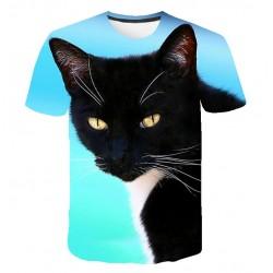 Tee Shirt Motif Chat