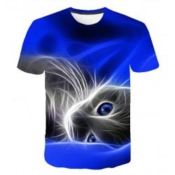 Tee Shirt Imprimé Chat