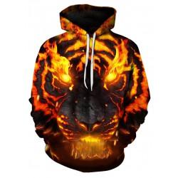 Sweatshirt Tête de Tigre