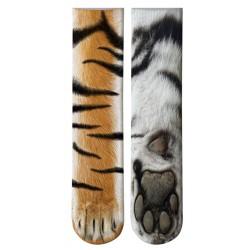 Chaussette patte de tigre