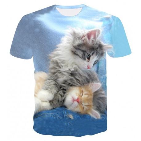 T Shirt Chaton